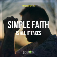 Simple Faith Is All It Takes
