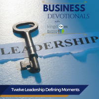 Twelve Leadership Defining Moments
