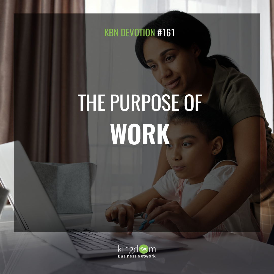 The Purpose of Work